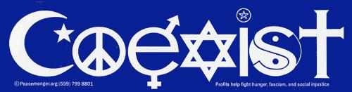coexist-sticker